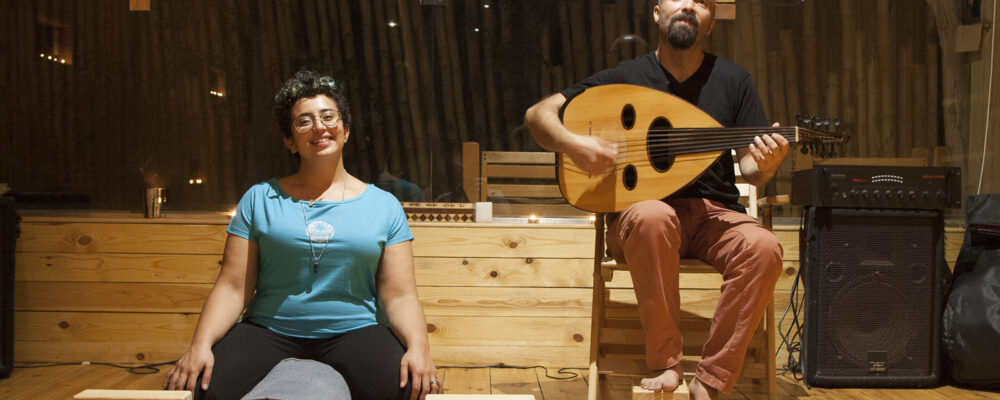 Yoga with live Oud